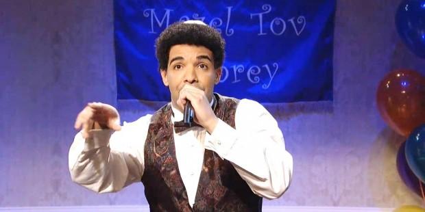 Drake Bar Mitzvah Monologue SNL Jokes Kimye, Rihanna
