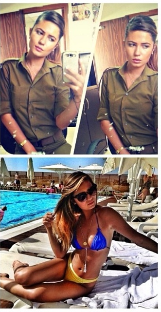 Israeli Soldier Girl Pic (125)