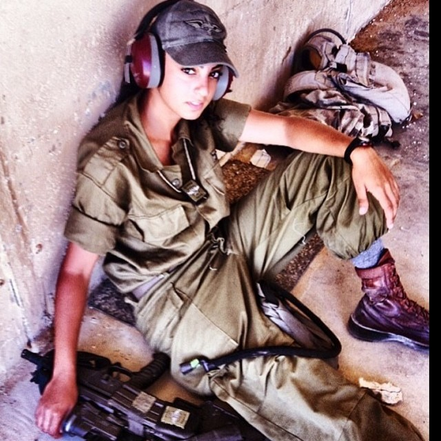 Israeli Soldier Girl Pic (134)