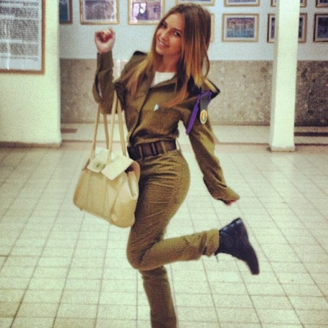Israeli Soldier Girl Pic (135)